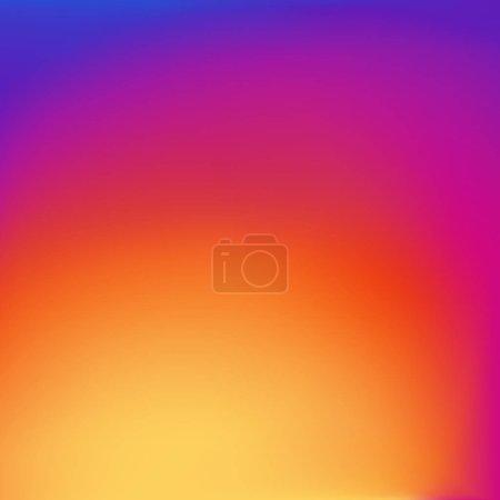 Illustration pour Lumineux fond de couleur gradient de saturation élevé - image libre de droit
