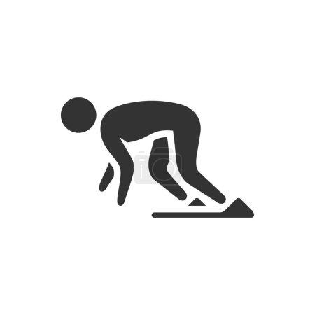 Starting runner icon