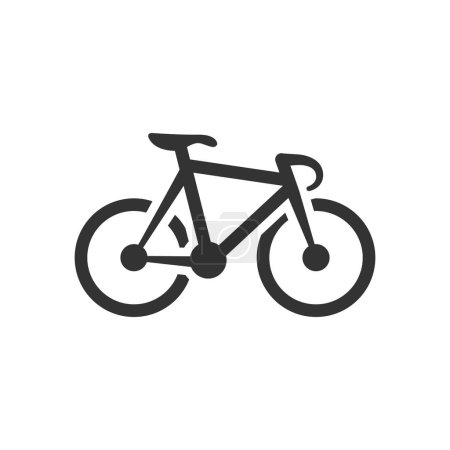 Track bike icon