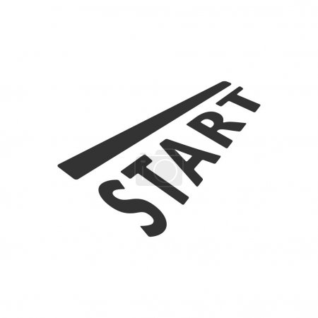 Starting line icon