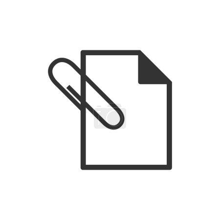 Attachment file icon