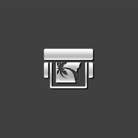 Metallic Icon - Printing proof
