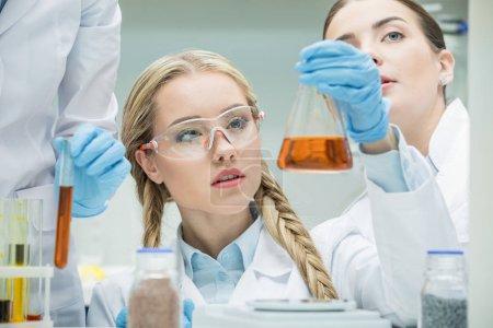 Female scientist in lab