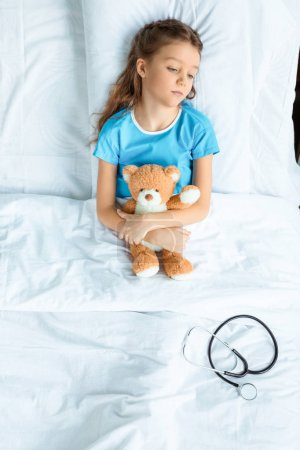 Patient with teddy bear