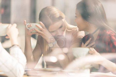 Friends having coffee break