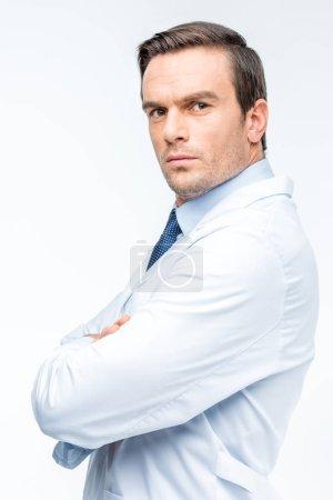 Portrait of male doctor