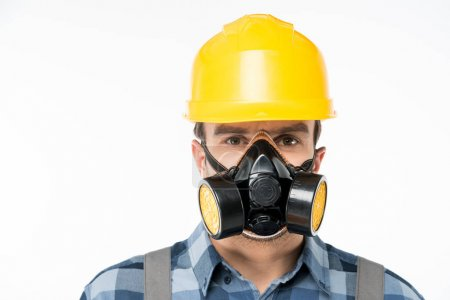 Workman in protective workwear