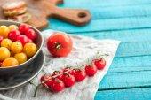 Various fresh tomatoes