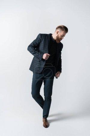 stylish bearded man