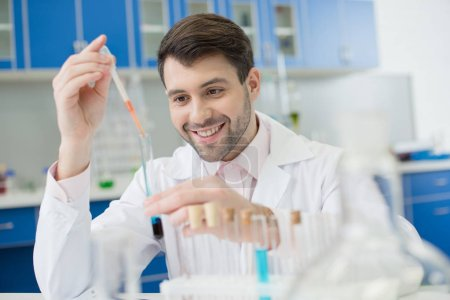 scientist working in lab