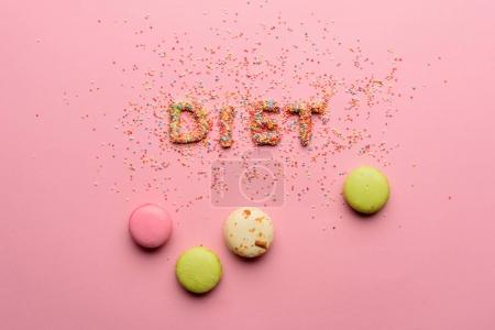 Word diet from sweets