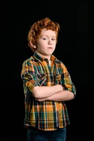 adorable redhead boy