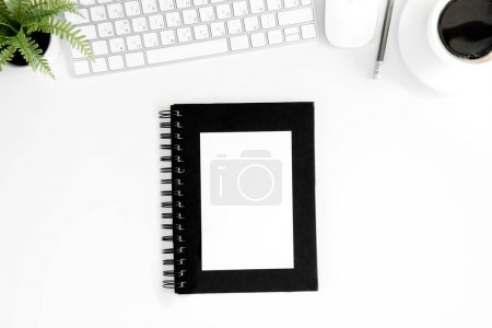 Notebook with blank cover