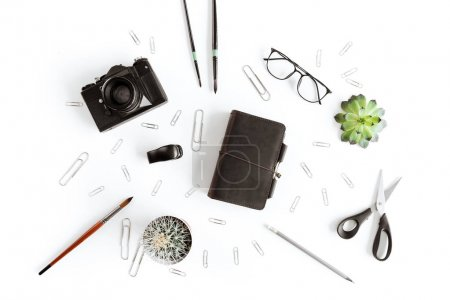 Camera and office supplies