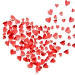 Постер, плакат: Heap of red hearts