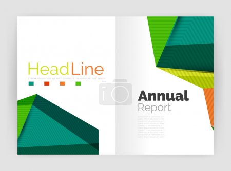 Low poly annual report