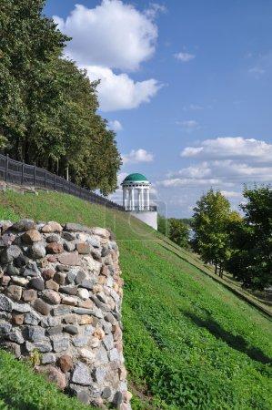 The rotunda on the waterfront. The City Of Yaroslavl.