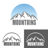 Tourism travel logo set