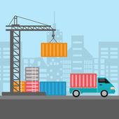 freight port terminal
