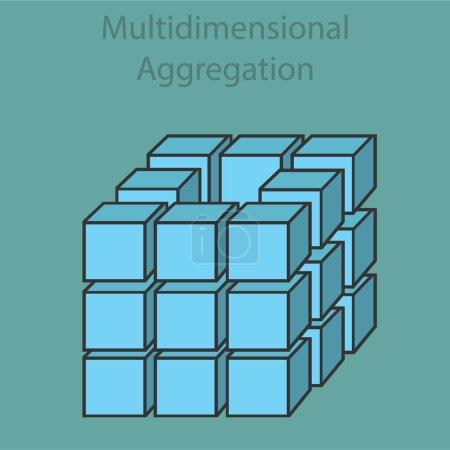 Multidimensional aggregation 3d