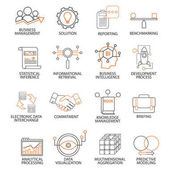 Icons for support business management