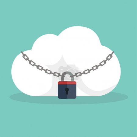 Cloud icon locked