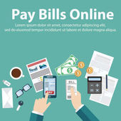 Pay bills onlineMobile Payment Using a mobile phone to bank and shop online