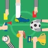 Football, soccer items