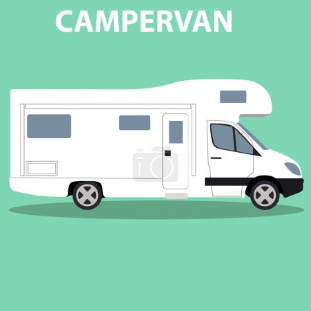 Brandless camper van