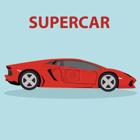 Supercar vehicle icon