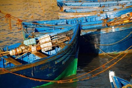Boats  in the Skala