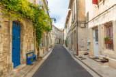 October 6, 2019 the city of Arles in the south of France, the st