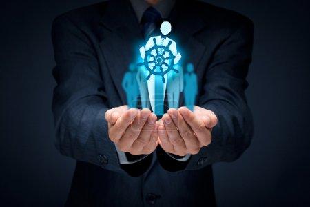 Business improvement and development concept.