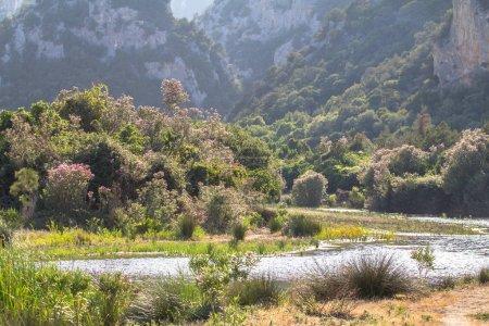 Landscape near Cala Luna, Sardinia, Italy