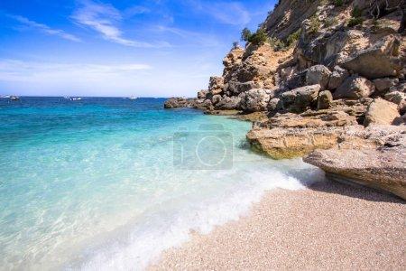 Cala Mariolu beach on the Sardinia island, Italy