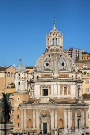 Santa Maria di Loreto and Most Holy Name of Mary in Rome, Italy