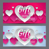 Valentýna s den srdce Symbol dárek Card. lásku a pocity pozadí