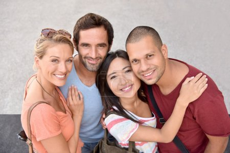 Photo for Portrait of four young adults, ethnicity - Royalty Free Image