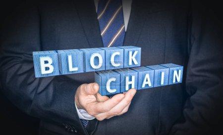 Blockchain encryption concept