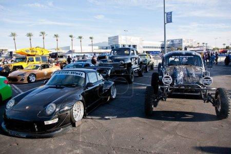 Vegas SEMA car trade show 2017