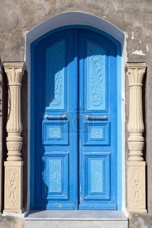 Traditional old Tunisian door