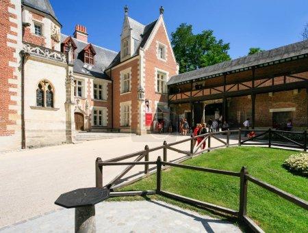 court of Chateau du Clos