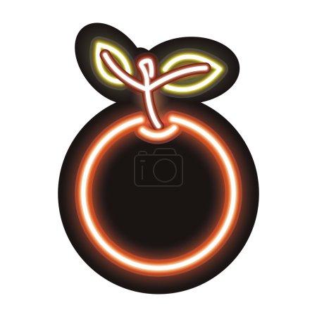 neon orange icon