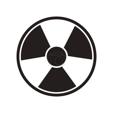Toxic and nuclear icon