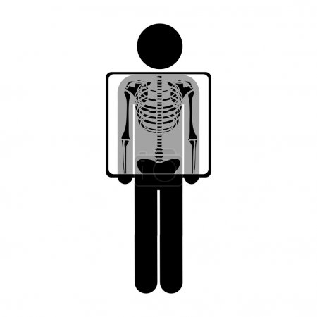 chest x-ray icon image