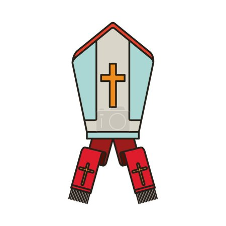 pope hat icon