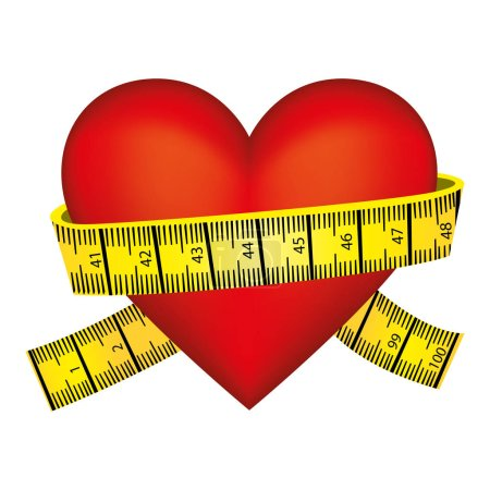 measuring tape and icon image