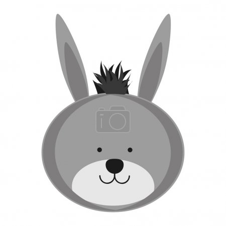 donkey animal icon image