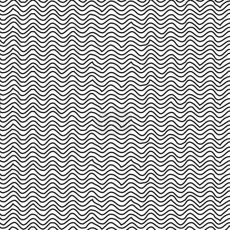 Silhouette pattern with striped lines