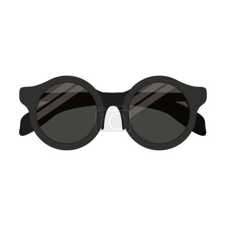 Full color with sunglasses black frame